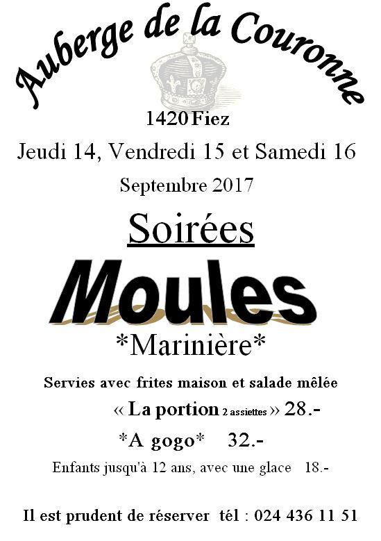 Moules 2017